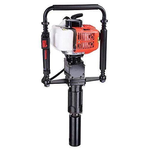 Gas Powered T Post Driver 2 Stroke 32.7cc Manual Portable, used for sale  Delivered anywhere in USA