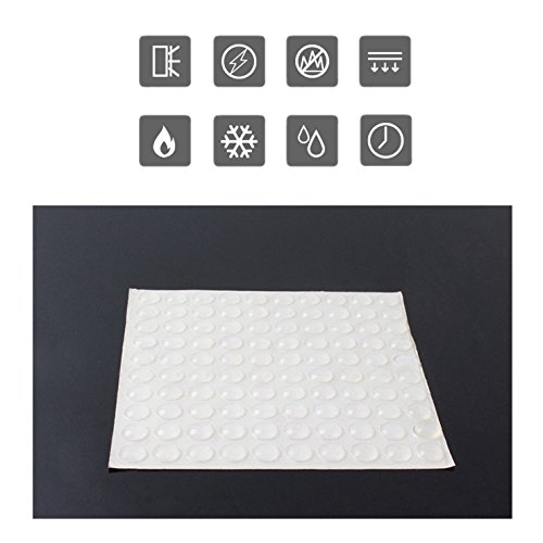 44cd3e45b71 Clear Rubber Feet Bumpers Pads 300 Pieces Self Adhesive - Import It All