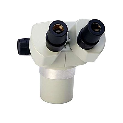 Stereo Zoom Microscope with Boom Stand and LED Illumination in Ivory by Aven