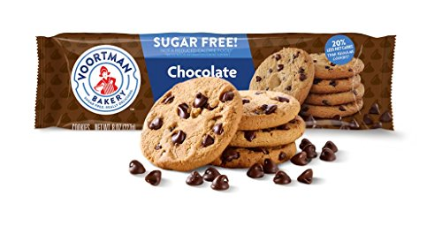 - Voortman Bakery, Sugar Free Chocolate Chip Cookies, Crispy, Crunchy Cookies, 8oz, Pack of 4