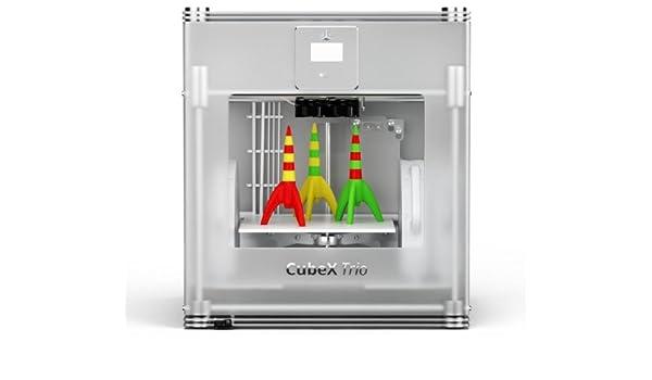 Cubify 401385 CubeX Trio - Impresora 3D (tres cabezales ...