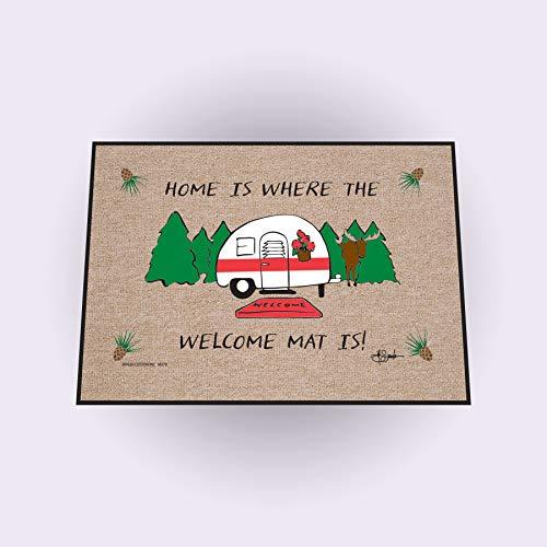 High Cotton Inc M279 High Cotton Outdoor Mat, Home is - Mat Cotton High Door