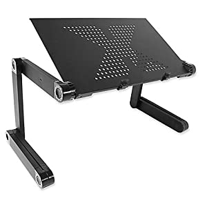 Flex Desk Portable Adjustable Aluminum Laptop Desk-Stand-Table Vented Mount-Notebook-Macbook-Light Weight Mobile Ergonomic Folding TV Bed Recliner Lap Tray ...  sc 1 st  Amazon.com & Amazon.com : Flex Desk Portable Adjustable Aluminum Laptop Desk ... islam-shia.org