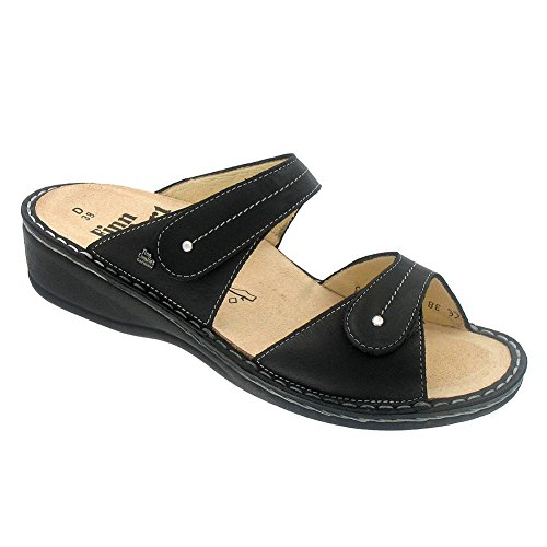 Finn Comfort Soft Catalina Womens Sandals Black Nappa BAoFcxZ2