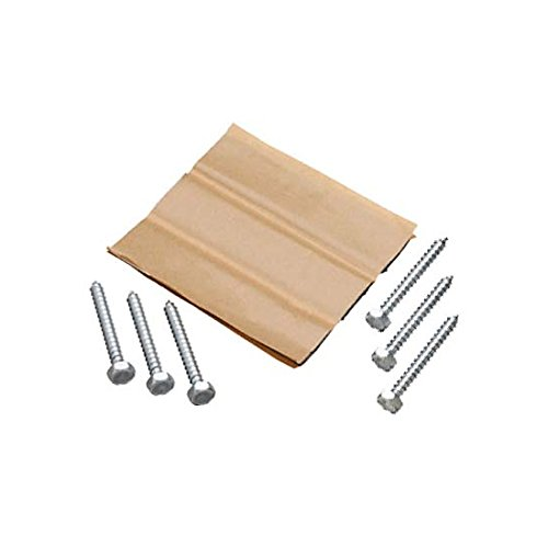 Pitch Pad Lag Bolt Kit HD TV Antenna Pitch Pads Tar Sealing Strips and Lag Bolts for DSS DBS Satellite Dish Rooftop Installation Mount Weather Protector