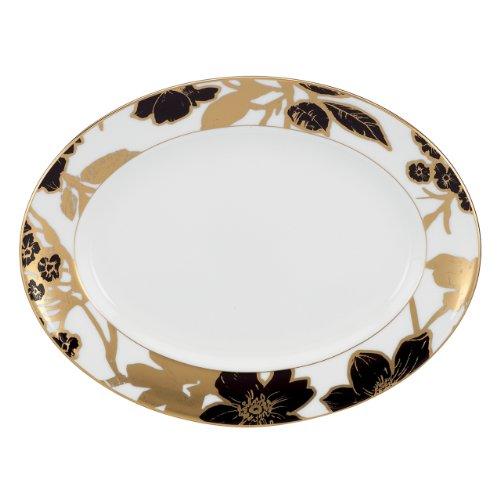 Lenox Minstrel Gold Oval Platter, 13-Inch