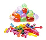 500pcs Assorted Colors Water Balloons Bomb Balloons Beach Balloons Fun...