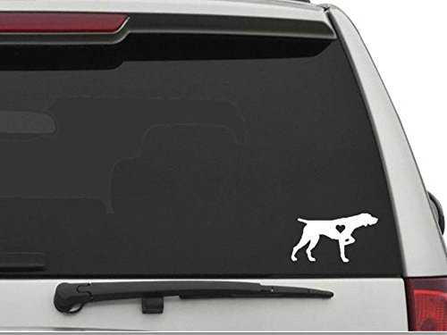- DECALS USA German Shorthaired Pointer with Heart 6 inch Decal Sticker for Car and Truck Windows and Laptops