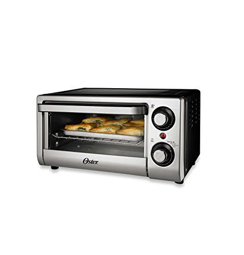 Oster® TSSTTVSM9L 4-Slice Toaster Oven in Silver (Oster Small Digital Oven compare prices)