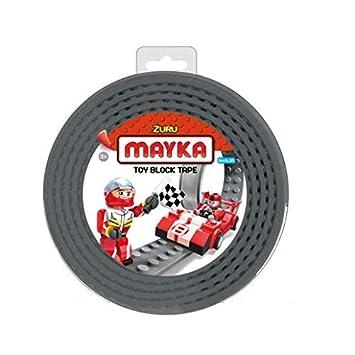 Schwarz Mayka Tape Zuru Spielbaustein-Klebeband selbstklebend 4 Pins