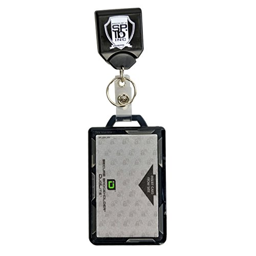 Specialist ID Heavy Duty Badge and Key Reel with Identity Stronghold RFID Blocking Multi Card Holder Badge Reel No Sticker