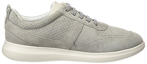C Grey lt Geox Sneakers Gris Gomesia D Basses Femme AHqx8HEa