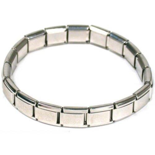 Art Italian Charm - Italian Link Charm Expandable Starter Bracelet Jewelry