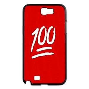kimcase Custom Emoji 100 Case for Samsung Galaxy Note2 N7100