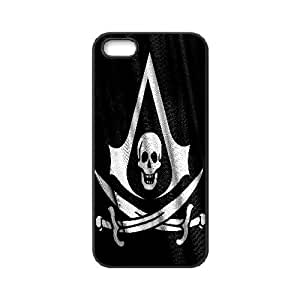 phone covers Assassins Creed 4 Black Flag Hard Shell Black Skin Cover Case for iPhone 5c