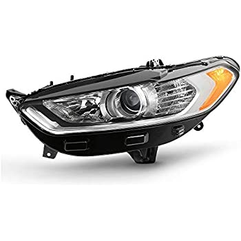 Halogen Style For 2013-2016 Ford Fusion 4Door Projector Headlight Left Driver