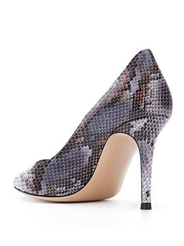 a donna Donna spillo Scarpe Scarpe Tacco Python da Soireelady Scarpe Purple tacco col nHqwS88gY