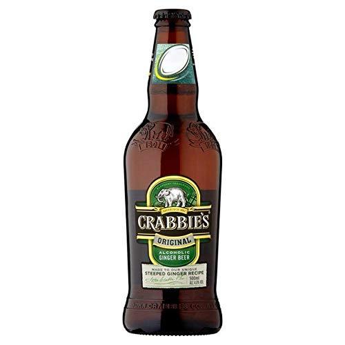 (Crabbies Alcoholic Ginger Beer - 500ml (17.59 fl oz))