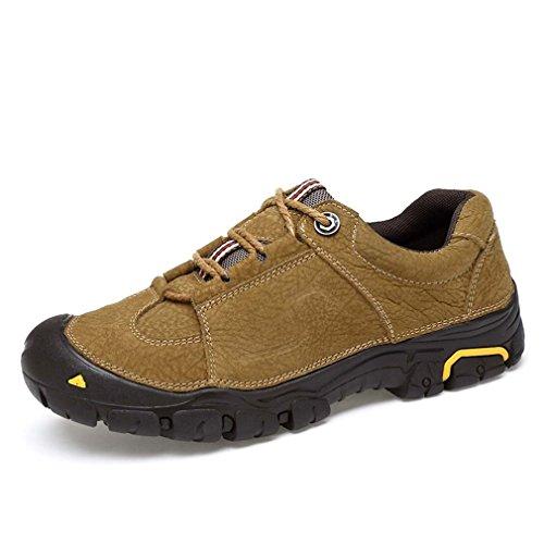 Randonnée Marche Air Randonnée Plein Unisexe Khaki Escalade Cuir Et Chaussures De En Chaussures De Basses Loisirs En Imperméable wSFHIqO