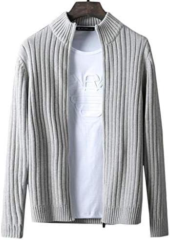 メンズ カーディガン ブルニット セーター コート ジャケット ファスナー シンプル サイズ M~6XL カジュアル 秋 ビジネス コーディネート