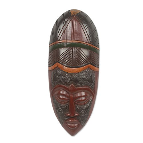 African Wood Mask ()