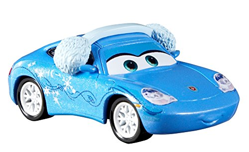 Christmas Joy Cast.Disney Pixar Cars Die Cast Christmas Joy Snow Day Sally Car