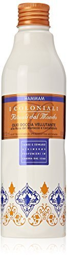 I Coloniali Velvet Touch Shower Oil with Moroccan Rose and Coriander, 8.4 Fluid Ounce by I - Stores Mall Colonial
