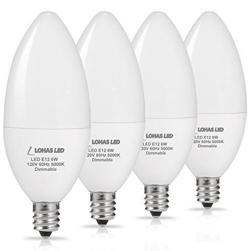 Led Dimmable Torpedo Candelabra Light Bulb in US - 7