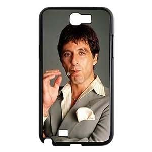 Al Pacino Scarface Samsung Galaxy N2 7100 Cell Phone Case Black present pp001_9602828