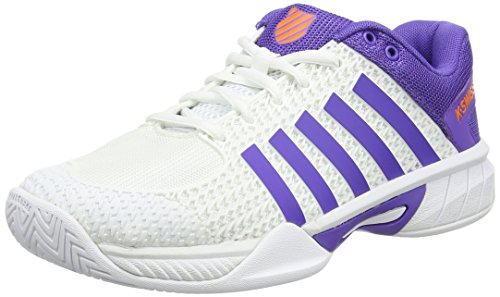 Performance Damen Tennisschuhe K Orange Swiss Express Weiß Light White Purple wS5TEq