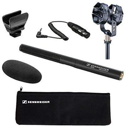 Sennheiser MKE 600 Short Shotgun Microphone w//Sennheiser MZH600 Windshield