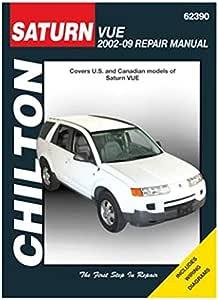 amazon.com: chilton saturn vue, 2002 thru 2009 repair manual (62390):  automotive  amazon.com
