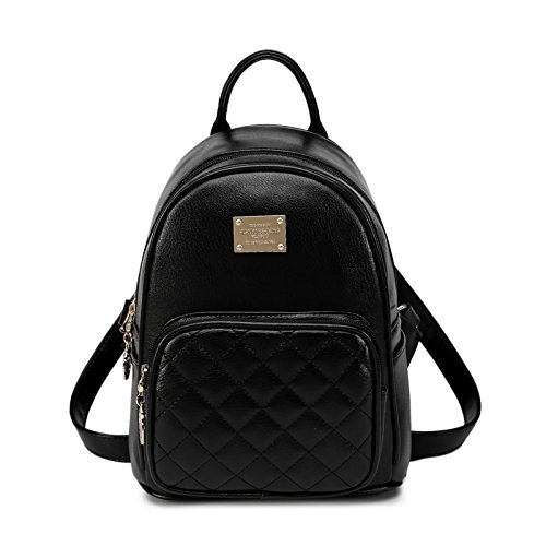 My Beauty Day Backpack Backpack Casual Elegant Woman Woman Woman Fashion Small Packets, Pink Black