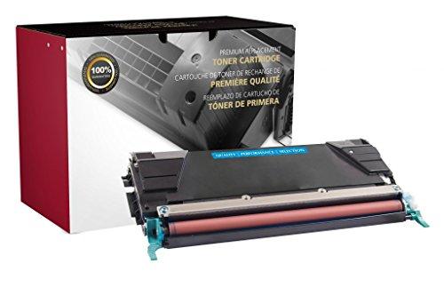 Recreated Cartridges Lexmark C736H2CG | Cyan Color 10,000 Pages for Lexmark C736, C736DN, C736DTN, C736N, X736, X736DE, X738, X738DE, X738DTE (Color C736dn Printer Laser)