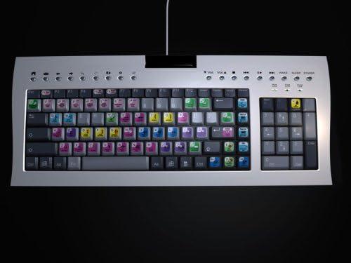 Adobe Premiere CS1-CS4 editar Vídeo de teclado y juego de ...