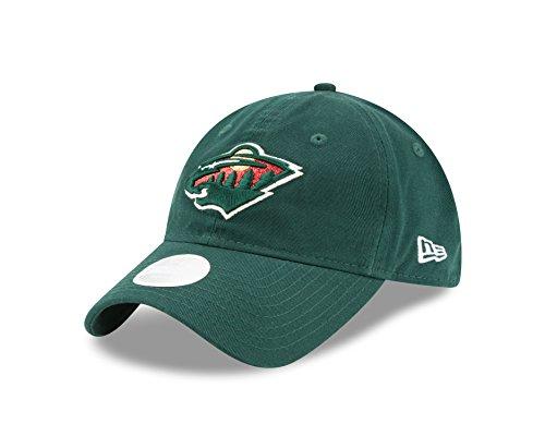New Era NHL Minnesota Wild Women's Team Glisten 9TWENTY Cap, One Size, Green