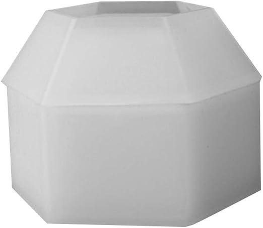 EXCEART Molde de Epoxi de Cristal 3D Diy Caja de Almacenamiento de Molde Molde de Caja