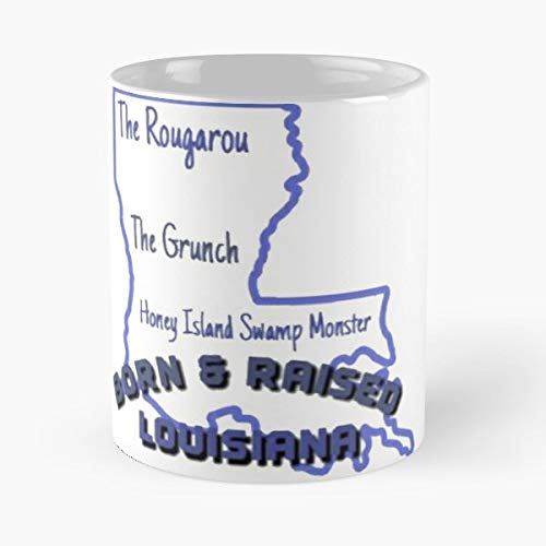 - Louisiana Cryptids Cryptozoology The Honey Island Swamp Monster - Funny Sophisticated Design Great Gifts -11 Oz Coffee Mug.the Best Gift For Holidays.