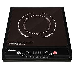 Lifelong Inferno VX LLIC10 2000-Watt Induction Cooktop for Home with 7 Preset Indian Menu Option and Auto-Shut Off…