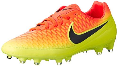 Nike Magista Orden FG Soccer Cleat (Total Crimson, Volt) Sz. 9 (Soccer Cleats Ctr)