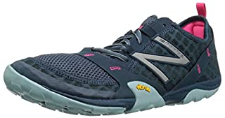 New Balance Women's WT10v1 Minimus Trail Running Shoe, Grey/Blue, 6 D US (B01FSITZJ0) | Amazon price tracker / tracking, Amazon price history charts, Amazon price watches, Amazon price drop alerts