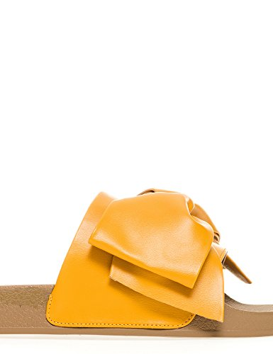 Silvian Heach Women's Barrios Slippers Yellow hcVYc