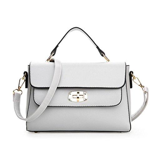 quadrato cinque spalla mostra il del Il piccolo in grey obliquo mette donne pacchetto NVBAO sacchetto Elegante colori quadrato delle brown singolo di n4wUqgf