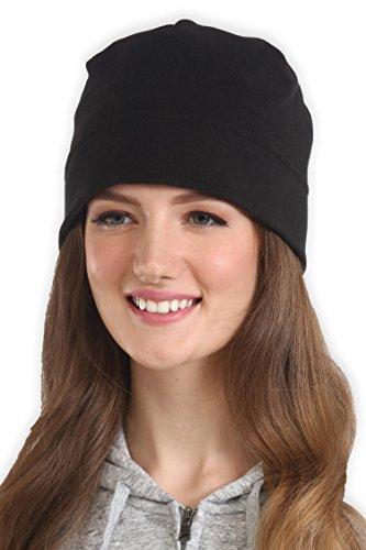 462365cbed1b5 Tough Headwear Fleece Winter Beanie Hat – Cold Weather Midweight ...