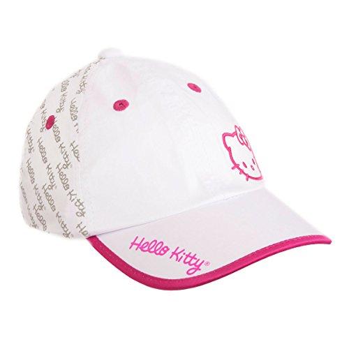 Hello Kitty Sports Women's Premier Collection Script Hat, White/Magenta, Medium