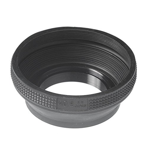 ETSUMI Japan-E-6581 Rubber Lens Hoods made in Japan 77mm