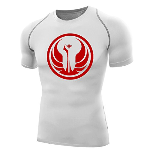 Sysuer Star Wars Jedi Knight Logo Base Layer Bike Wear Training Tshirt Tees