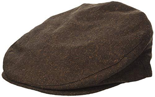 Brixton Men's Barrel SNAP Cap, Brown/Rust, L (Male Barrel)