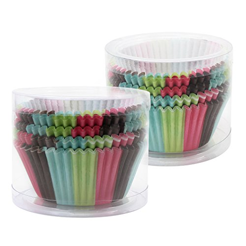 Ocr Paper Baking Cups Cake Liners Cupcake Muffin Cake Wrappers 200PCS (Rainbow-2)