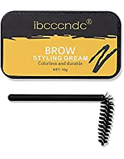Brows Styling Soap Eyebrow Soap Kit Long Lasting Waterproof Smudge Proof Eyebrow Styling Pomade Eyebrow Setting Gel Balm